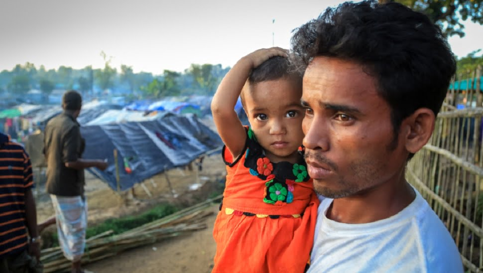 Food and shelter for Myanmar refugees